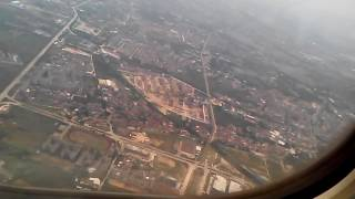 Взлет самолета, ощущения пассажира