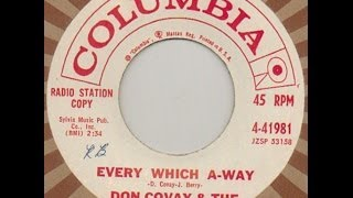 EVERY WHICH A-WAY - DON COVAY & THE GOODTIMERS (1961)