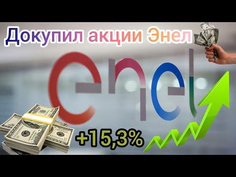 Докупил акции Энел. Сделал тех. анализ данной бумаги. Прогноз по движению цены Энел .