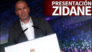 Presentación De Zidane En DIRECTO Desde El Estadio SANTIAGO BERNABÉU | Diario AS