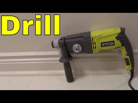 Ryobi SDS65 Rotary Hammer Drill Review