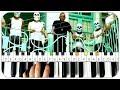 LUCIANO - LA HAINE Instrumental Beat + Piano Tutorial MIDI