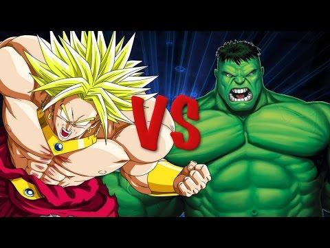 DJ Reacts HULK vs BROLY! Cartoon Fight Club Episode 25
