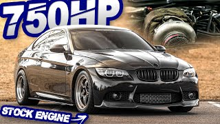 750HP BMW 335i on STOCK MOTOR GAPS Domestics on the Street! (Stick Shift + Single Turbo) by  That Racing Channel