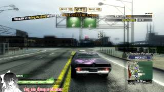 Burnout Paradise - Practicing with PC Annihilator Street Rod pt2