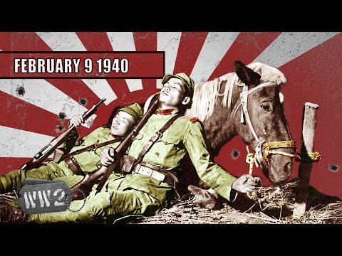 Patová situace v Číně, bomby nad Finskem - Druhá světová válka