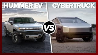 GMC Hummer EV vs. Tesla Cybertruck: SHOCKING PERFORMANCE by Roadshow