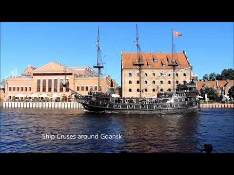 סרטון סיור בעיר גדנסק, בצפון פולין