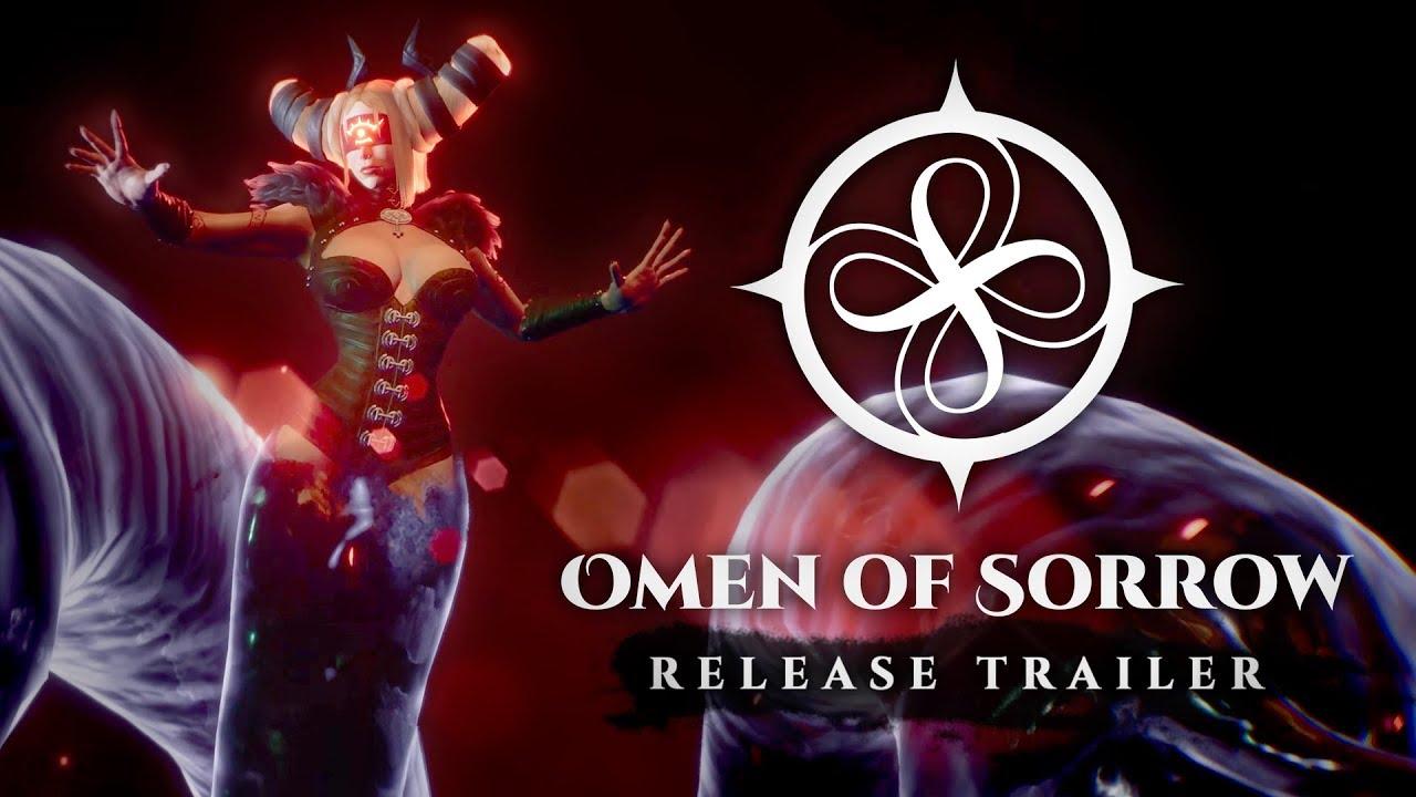 Conquiste a Escuridão em Omen of Sorrow, Disponível Amanhã no PS4