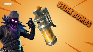 Stink Bombs Are In Fortnite! Fortnite Battle Royale 4.4 Update!