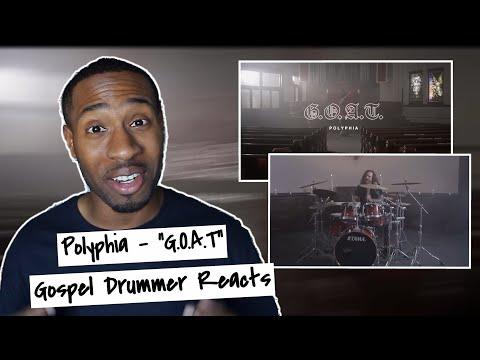 "Gospel Drummer REACTS: Polyphia ""G.O.A.T"""