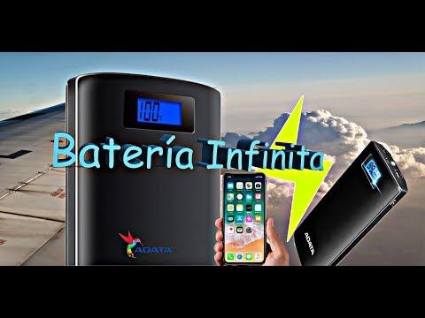 La mejor Power Bank para tus Viajes Batería ADATA 20000mAh.