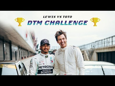 Image: WATCH: Lewis Hamilton vs Toto Wolff at Silverstone!
