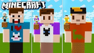 THE PALS GIANT MINECRAFT HOUSE CHALLENGE! (Denis vs Sketch vs Alex vs Corl)