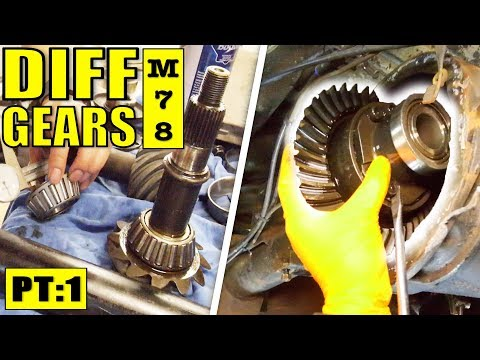 THE MOST COMPREHENSIVE DIFF GEAR INSTALL | VR V6 TURBO