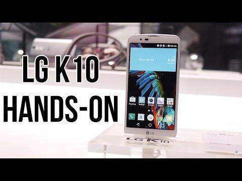 LG K10 hands-on