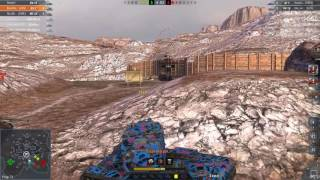WoT Blitz || KV-2 - 4100+ DMG