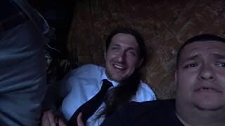 Застолье пьянка с шашлыками гулянка в 20:43 вечера приехали в Гости Хиккан и Галина