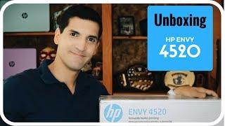 HP Envy 4520 Printer Unboxing