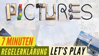 Pictures - Regeln - Aufbau - Anleitung + Let´s Play - Spiel des Jahres 2020