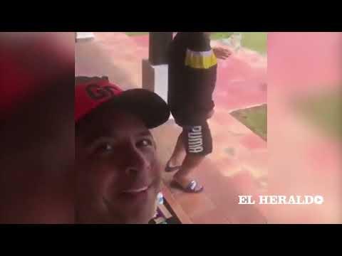 Diego Maradona Baila Vallenato