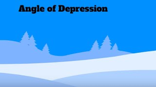 Math Video Definition-Angle Of Depression