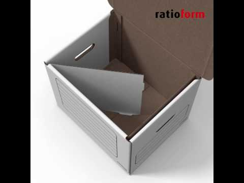 Registerbox, Archivbox  von ratioform | ratioform