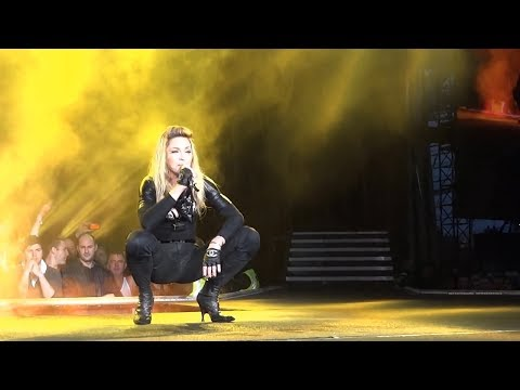Madonna ♥ Papa Don't Preach and Hung Up ~ MDNA Tour ~ Dublin 24.7.2012 ~ Live ~ HD