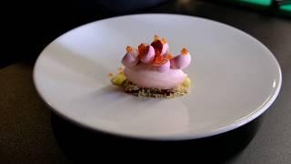 A Michelin Star Prepared Strawberry Dessert At Restaurant Meliefste