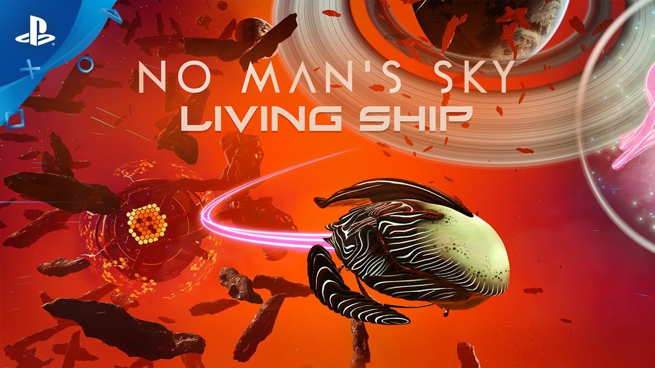 No Man's Sky Gets Living Ships in Latest Major Update on PS4