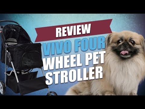 VIVO Four Wheel Pet Stroller Review