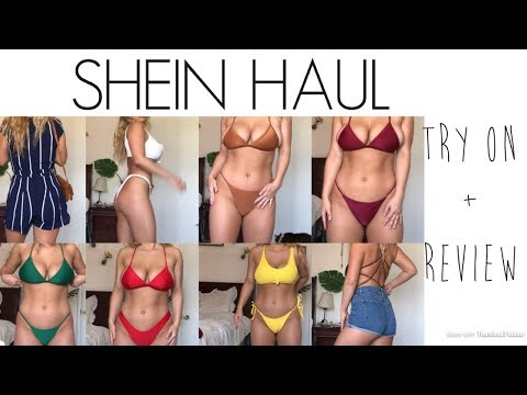 SHEIN Bikini & Summer Clothes Try-on Haul + Review  | Cassidy Coles