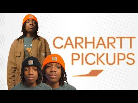 Carhartt WIP OG Chore Coat and Acrylic Hats Review!!!: Jalen Grayson