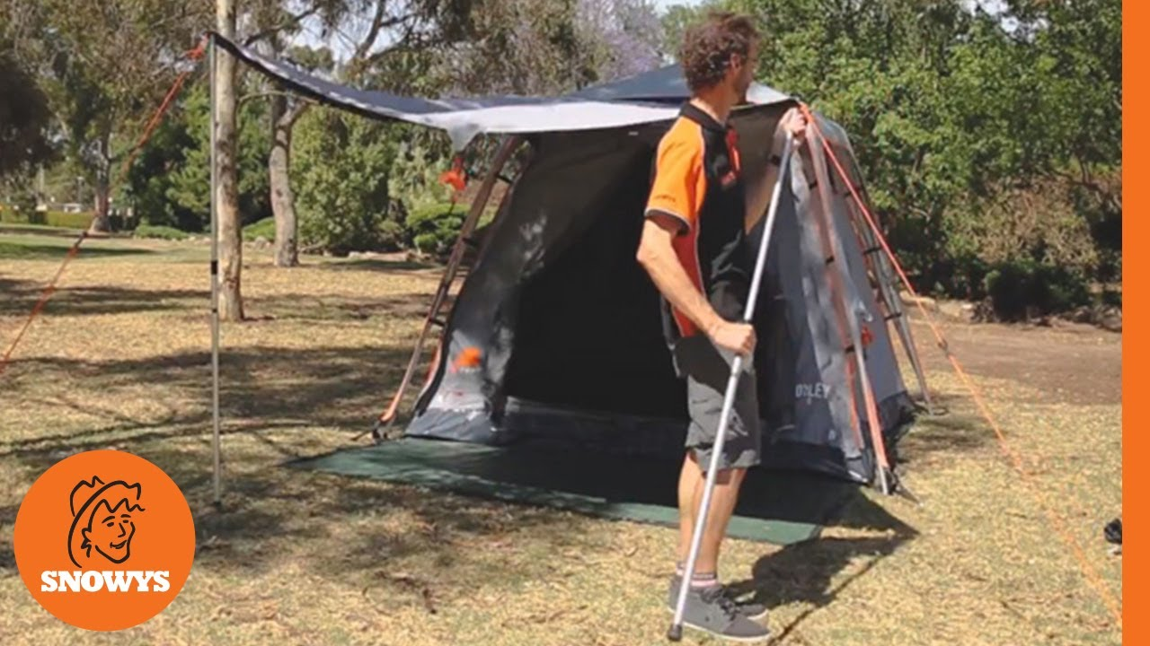 Oxley 5 Canvas Touring Tent