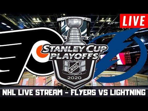 Philadelphia Flyers vs Tampa Bay Lightning Live | NHL Round Robin Play by Play/Hangout Stream