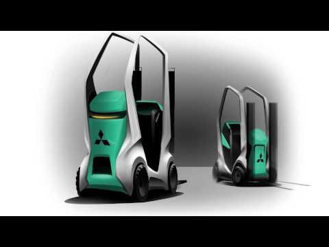 immagine di anteprima del video: Design futuristici di carrelli elevatori Mitsubishi