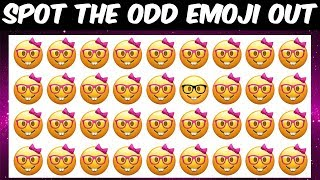 Can You Find The Odd Emoji Out In These Pictures?