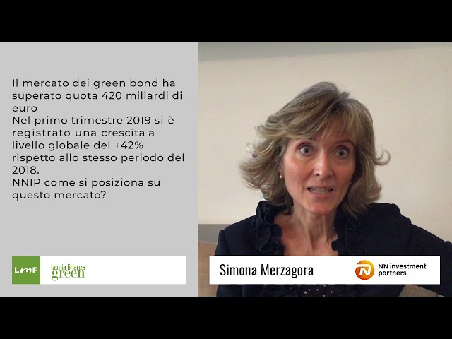 Il mercato dei green bond - Simona Merzagora (NN Investment Partners)