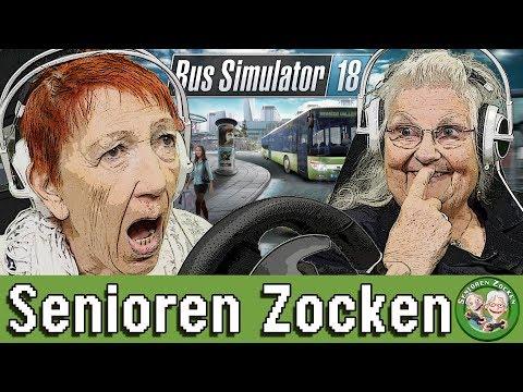 Bus Simulator 18 | WER ZERSTÖRT AM WENIGSTEN? - Senioren Zocken!!!