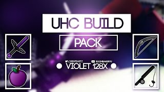 MINECRAFT PVP TEXTURE PACK - VIOLET 128X - UHC/KOHI