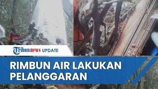 Pesawat Rimbun Air Jatuh di Papua Diduga Lakukan Pelanggaran, Polisi Masih Dalami dan Cari Bukti