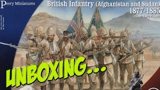 Perry Miniature's British Infantry 1877 - 1885