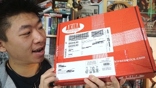 Unboxing Pedido Manga De Akira Comics
