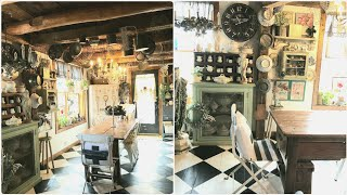 1700s Barn Converted To Antique Home Decor Collector Home Tour