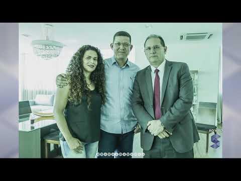 Governador Daniel Pereira, o governador Eleito Marcos Rocha e a 1ª Dama, juntos no CPA - Gente de Opinião