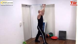 Training an der Tür mit Türanker, Assist und Griffen