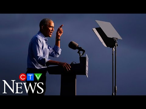 Obama unloads on Trump at rally in Pennsylvania | Full speech