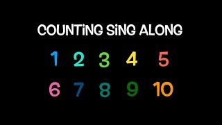 Counting Song | Numbers 1 to 10 | Sing Along
