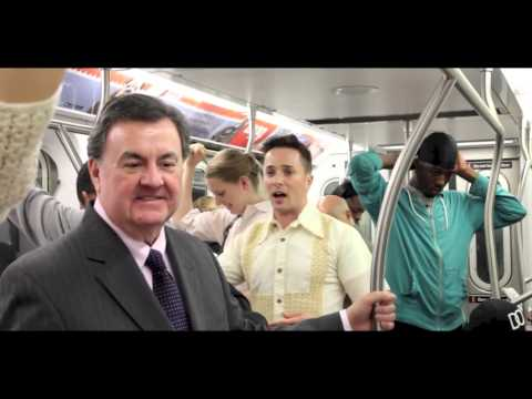 AN IMMIGRANT ON NYC SUBWAY! WATCH What Happened! Foreigner Seeks to Marry for Citizenship
