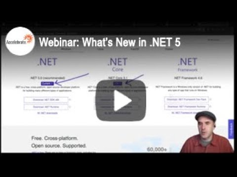 What's New in .NET 5 and C# 9